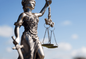 weighing benefits scales of justice